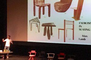 Max Lamb, Exercises in seating. Alvar Aalto -designseminaari, Jyväskylä.